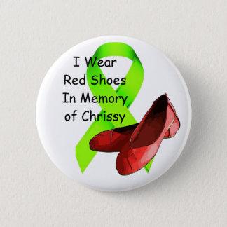 Badge Dans la mémoire du Pin de Chrissy, conscience de