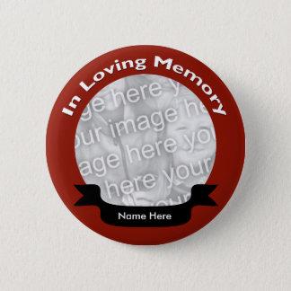 Badge Dans la touche mémoire affectueuse