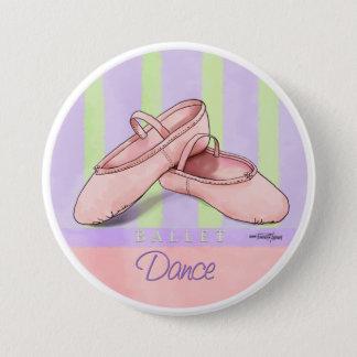 Badge Danse - bouton de pantoufles de ballet