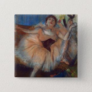 Badge Danseur assis par | d'Edgar Degas, 1879-80