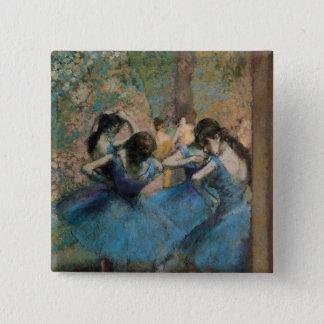 Badge Danseurs d'Edgar Degas | dans le bleu, 1890
