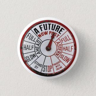 Badge D'avenir un passé maintenant - bouton de