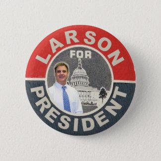 Badge David Larson pour le président 2012