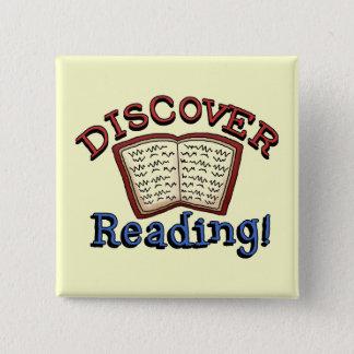 Badge Découvrez les T-shirts et les cadeaux de lecture