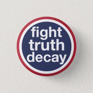 Badge Délabrement de vérité de combat