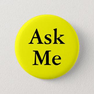 Badge Demandez-moi aux boutons des questions à votre