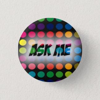 """Badge """"Demandez-moi"""" le bouton de pronom"""