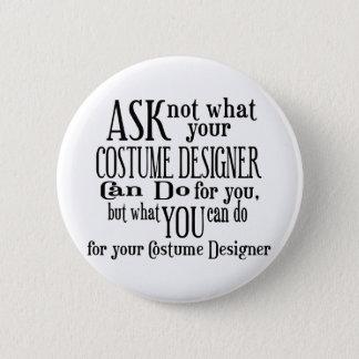 Badge Demandez pas le costume