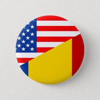 Badge demi de countr des Etats-Unis de drapeau des