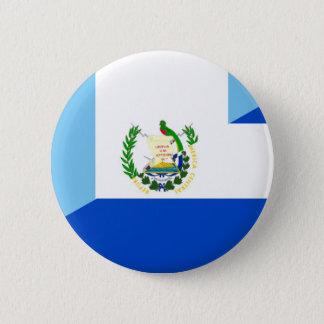 Badge demi de symbole de pays de drapeau du Guatemala
