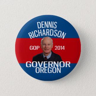 Badge Dennis Richardson pour la goupille de gouverneur
