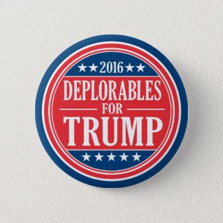 Badge Deplorables pour des penny de Donald Trump et de