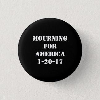 Badge Deuil pour le bouton de l'Amérique