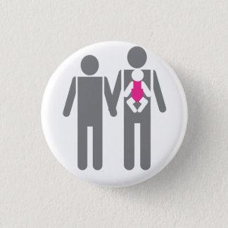 Badge Deux papas et une fille