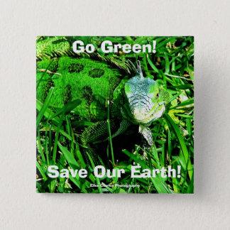 Badge Devenez écolo ! , Sauvez notre terre…