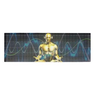 Badge D'identification Système de son de l'avenir avec le jeu d'écouteurs