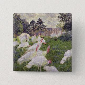 Badge Dindes de Claude Monet | chez Chateau de