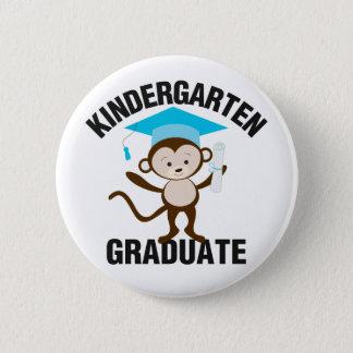 Badge Diplômé bleu de jardin d'enfants