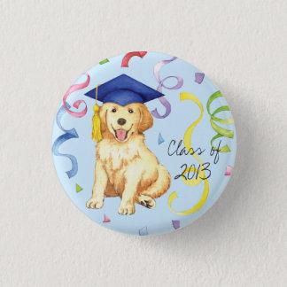 Badge Diplômé de golden retriever