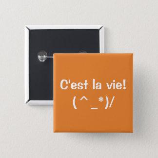 """Badge Do-it-yourself 2"""" boutons carrés - couleur et"""