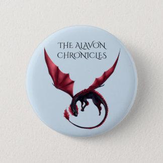 Badge Dragon Ouroboros 2 1/4 d'Alavon dans le bouton