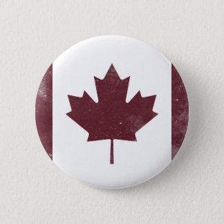 Badge Drapeau canadien vintage