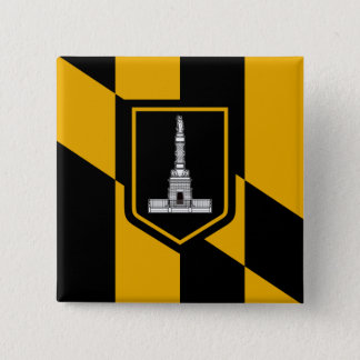 Badge Drapeau de Baltimore, le Maryland