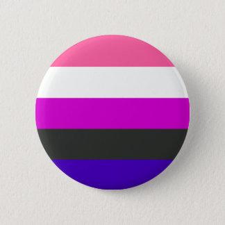 Badge Drapeau de Genderfluid