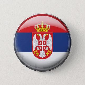 Badge Drapeau de la Serbie