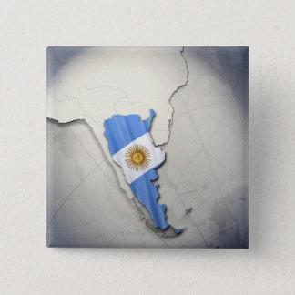 Badge Drapeau de l'Argentine