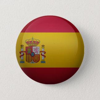 Badge Drapeau de l'Espagne.