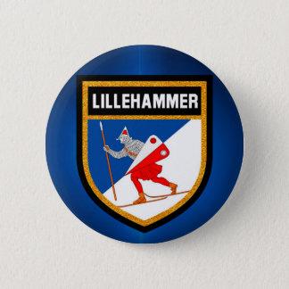 Badge Drapeau de Lillehammer
