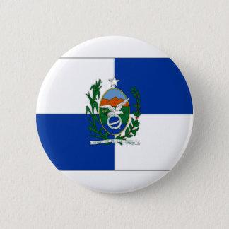 Badge Drapeau de Rio de Janeiro du Brésil