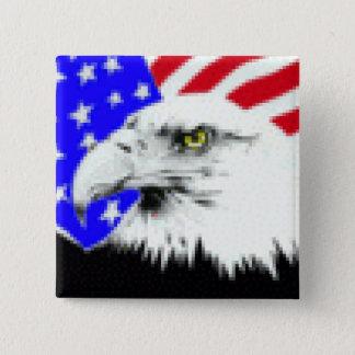 Badge Drapeau d'Eagle