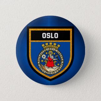 Badge Drapeau d'Oslo