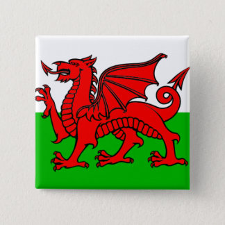Badge Drapeau du Pays de Galles