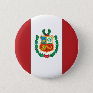 Badge Drapeau du Pérou