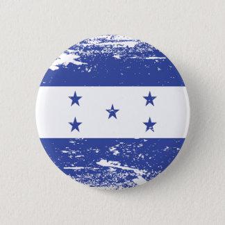 Badge Drapeau grunge du Honduras