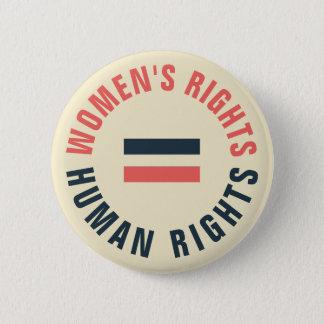 Badge Droits de l'homme égaux de droits de la femme