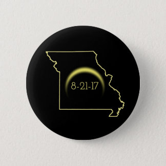 Badge Éclipse solaire totale Missouri 2017