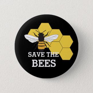 Badge Économies d'apiculteur le bouton d'abeilles