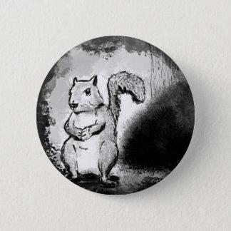 Badge Écureuil noir d'encre