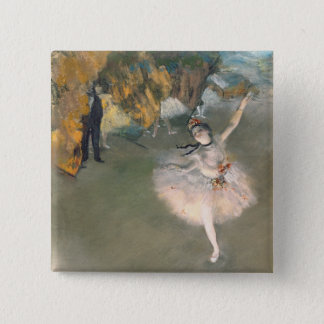 Badge Edgar Degas | l'étoile, ou danseur sur l'étape