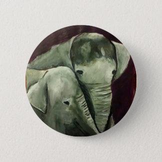 Badge Éléphant de mamans et de bébé