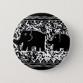 Badge Éléphant et veau