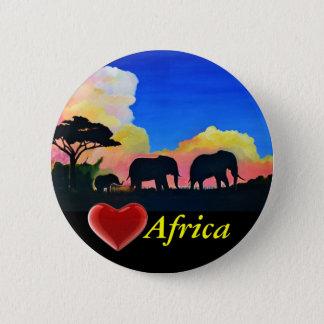 Badge Éléphants au crépuscule