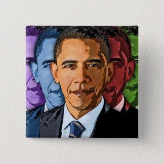 Badge Élisez Barack Obama pour le président