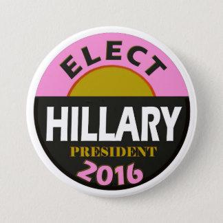 Badge Élisez Hillary 2016