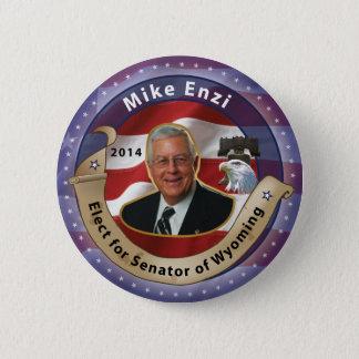Badge Élisez Mike Enzi pour le sénateur du Wyoming -