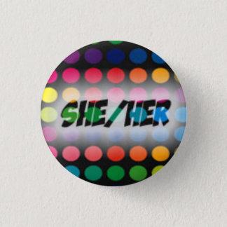 Badge Elle/son bouton de pronom